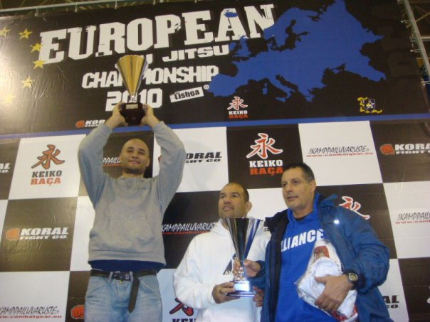 Checkmat first place at europeans BJJ